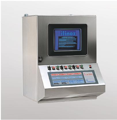 Armadio Pc Acciaio Inox.Portacomputer Apc Ilinox It